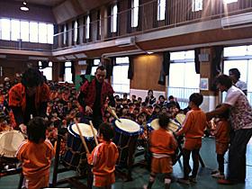 小学校和楽器体験